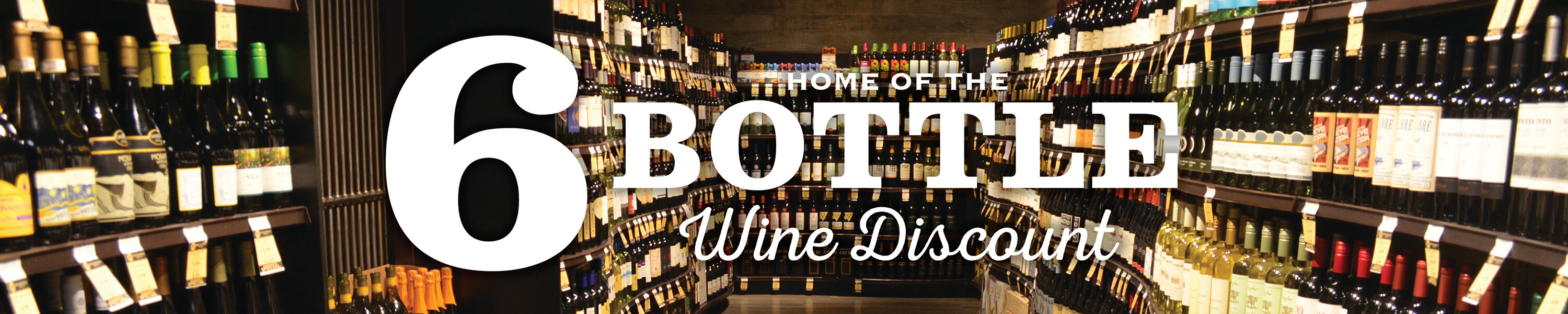 6 Bottle Wine Discount